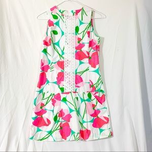 Lilly Pulitzer  - pink and Green floral  dress